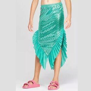 Cat & Jack Sparkle Mermaid Tail Swim Skirt